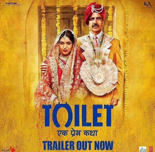 Toilet - Ek Prem Katha Official Trailer   Akshay Kumar, Bhumi Pednekar, Anupam Kher, Sana Khan   Directed by Shree Narayan Singh   Movie Releasing on 11th August 2017. #ToiletEkPremKatha #AkshayKumar #BhumiPednekar #AnupamKher #SanaKhan #Viacom18MotionPictures #KriArjEntertainment #PlanCStudios #CapeOfGoodFilms