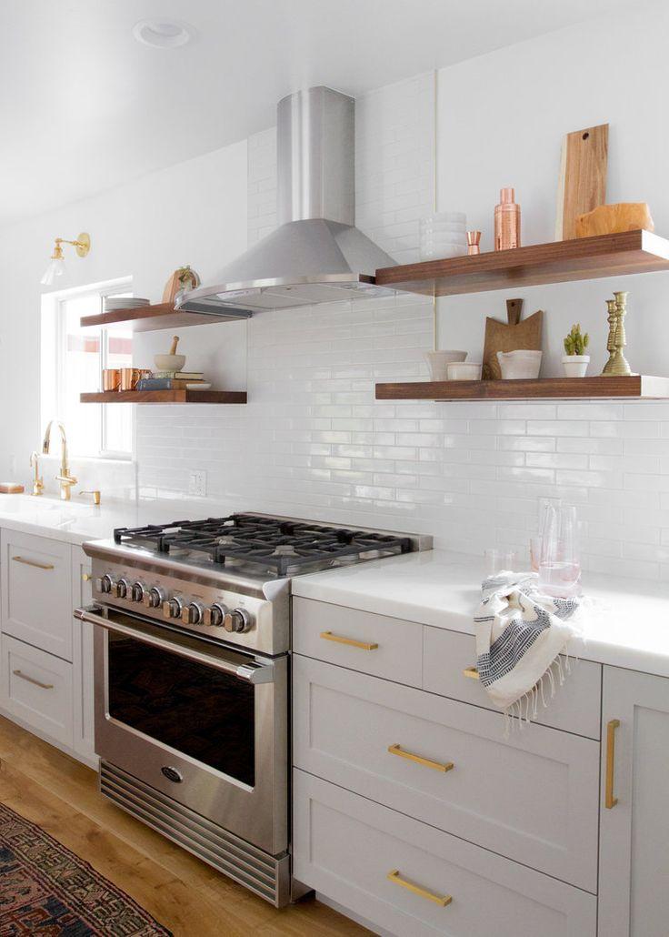 Topanga Canyon Modern Farmhouse Kitchen - Lauren Bradshaw Design