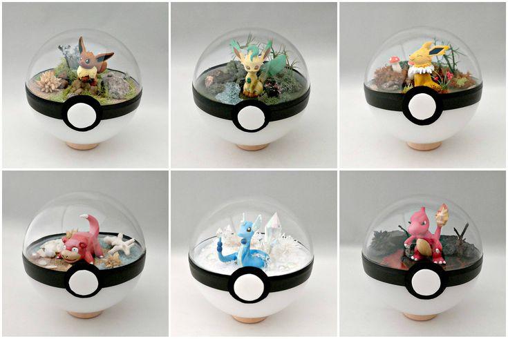 Artist turns the Pokémon necessity into works of art!