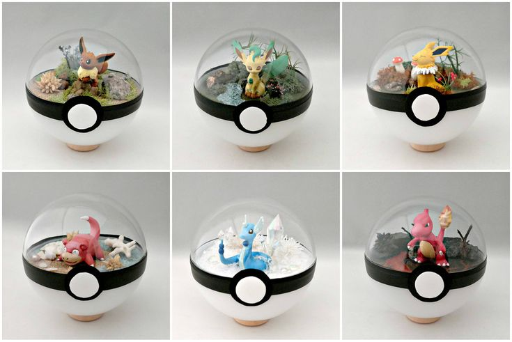 Artist turns the Pokémon necessity into works of art!