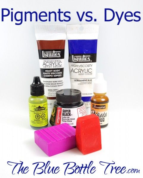 Excellent article | Learn the difference between pigments and dyes and how they affect your art. What are they and what is the difference?