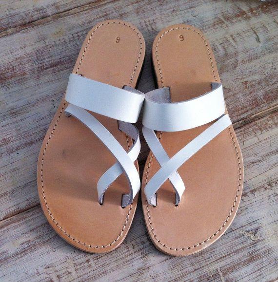 sandals, women sandals, greek sandals, white sandals