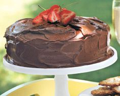 Chocolate Cake with Cocoa Icing