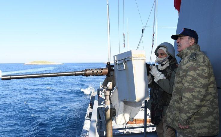 Τουρκική πρόκληση με πυραυλάκατο στα Ίμια