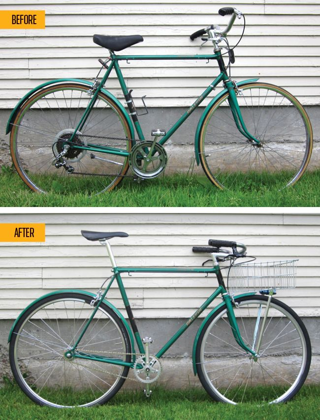 How To Make An Old Bike New AgainOne writer shares tips on how to restore a second-hand bicycle and make it into the perfect set of wheels.