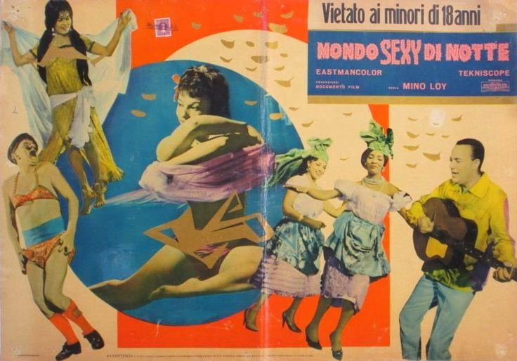 "Mino Loy's ""Mondo sexy di notte"" (English title: ""Mondo sexuality"", 1962)."