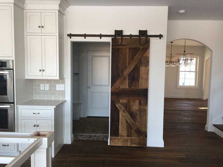 in love with barn doors sliding barn door on a pantry so smart