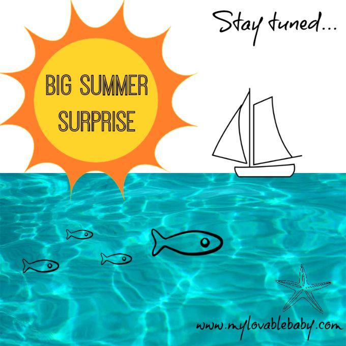 My Lovable Baby: Summer surprise: Η μεγάλη καλοκαιρινή έκπληξη που ...