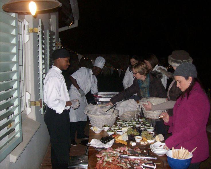 Chefs at one of our Monthly Vintage Move nights @Morrells Manorhouse #morrells #restaurant #vintagemovienights #fun #picnic #northcliff #johannesburg #restaurant