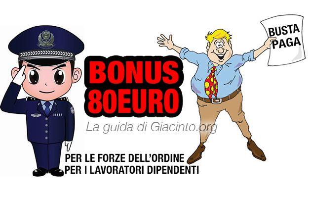 Bonus 80 euro 2016: a chi spetta, quali sono i requisiti, le novità 2016 sul bonus in busta paga e quello dedicato alle forze dell'ordine.