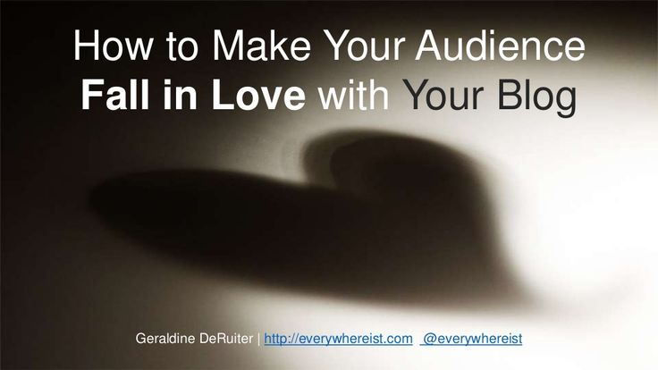 Fallinlovewithyourblog (1) by Rand Fishkin via slideshare