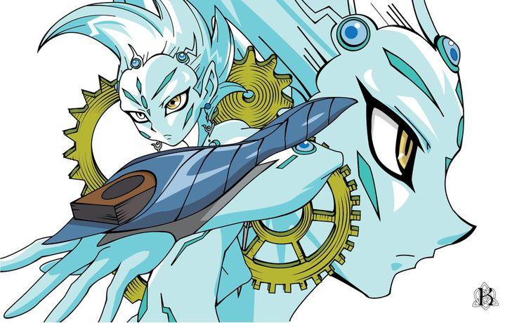 Yu-Gi-Oh! Zexal: Astral Wallpaper by LadyKamalei.deviantart.com on @DeviantArt