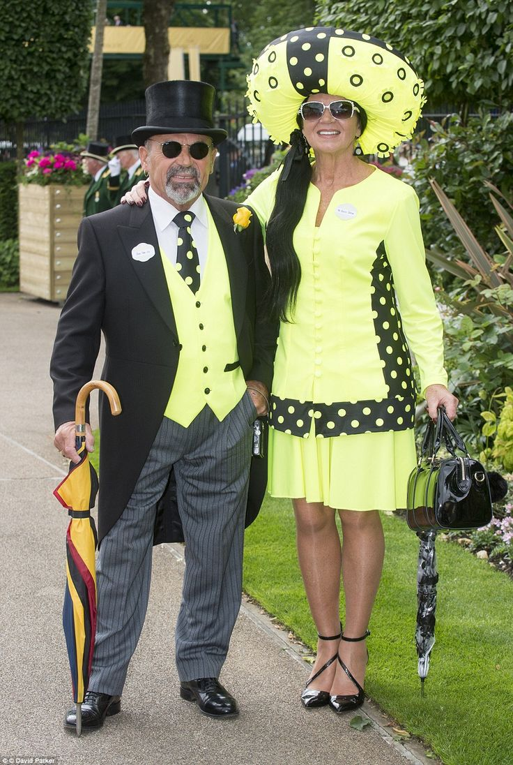 Revellers descend on Royal Ascot in VERY flamboyant headgear | Daily Mail Online