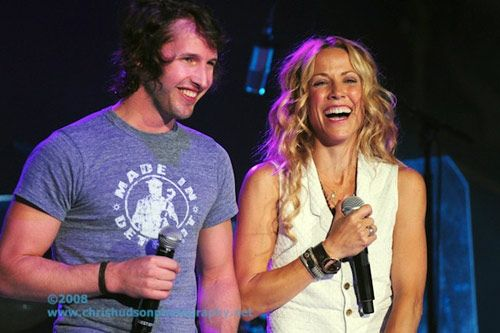 James Blunt and Sheryl Crow - Dallas, Texas (August 2008)