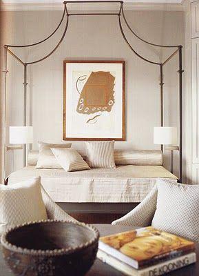 Love that for Khloe Veranda Magazine #anthro #canopy bed?