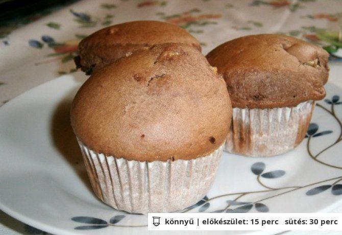 Csokis-banános muffin Szilvus konyhájából
