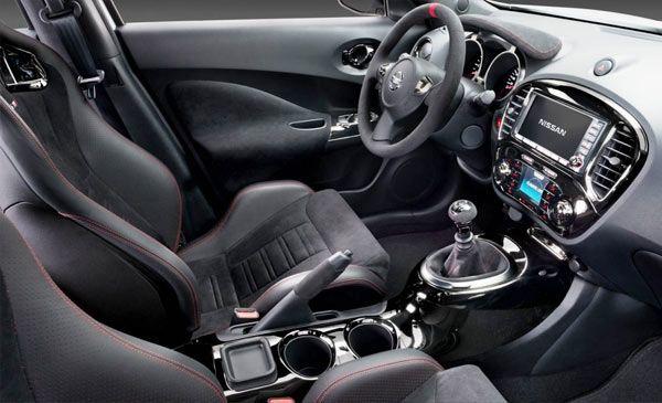Nissan Juke 2013 (interior) — Efficient, young, fun