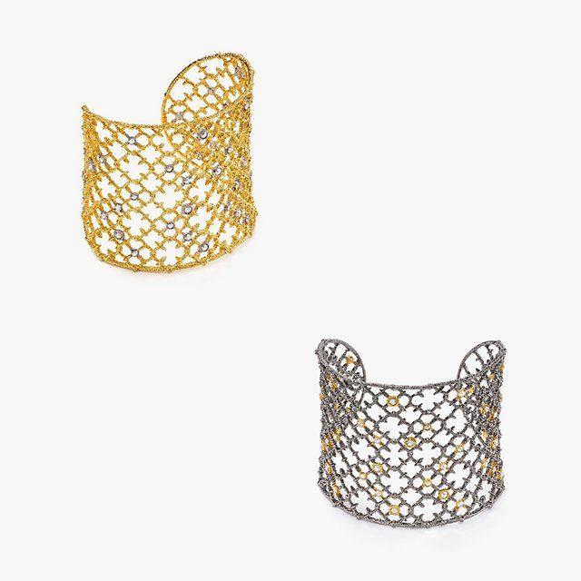 Alexis Bittar crystal-studded spur lace cuff, $245 bloomingdales.com