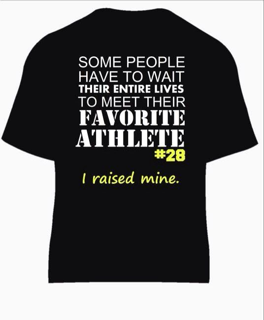 Football Mom Spirit Shirt! Personalized with Custom Text on Etsy, $25.00