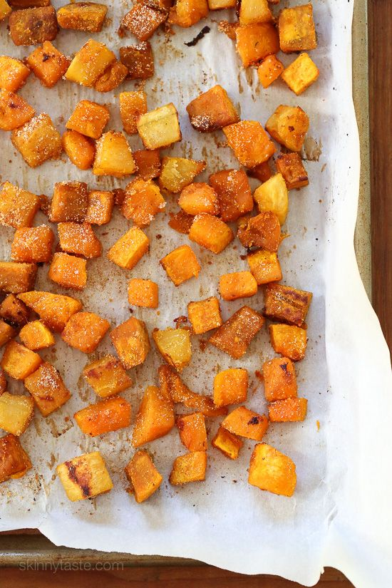 Roasted Seasoned Winter Squash Medley – a wonderful combination of sweet, spicy, smoky and savory flavors.