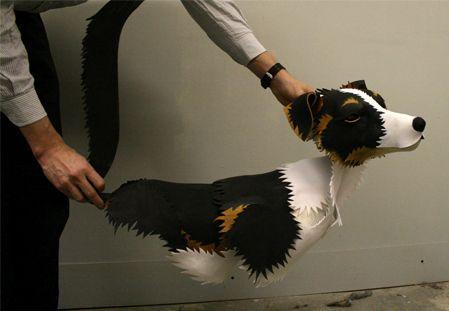His Dark Materials puppet, Blind Summit