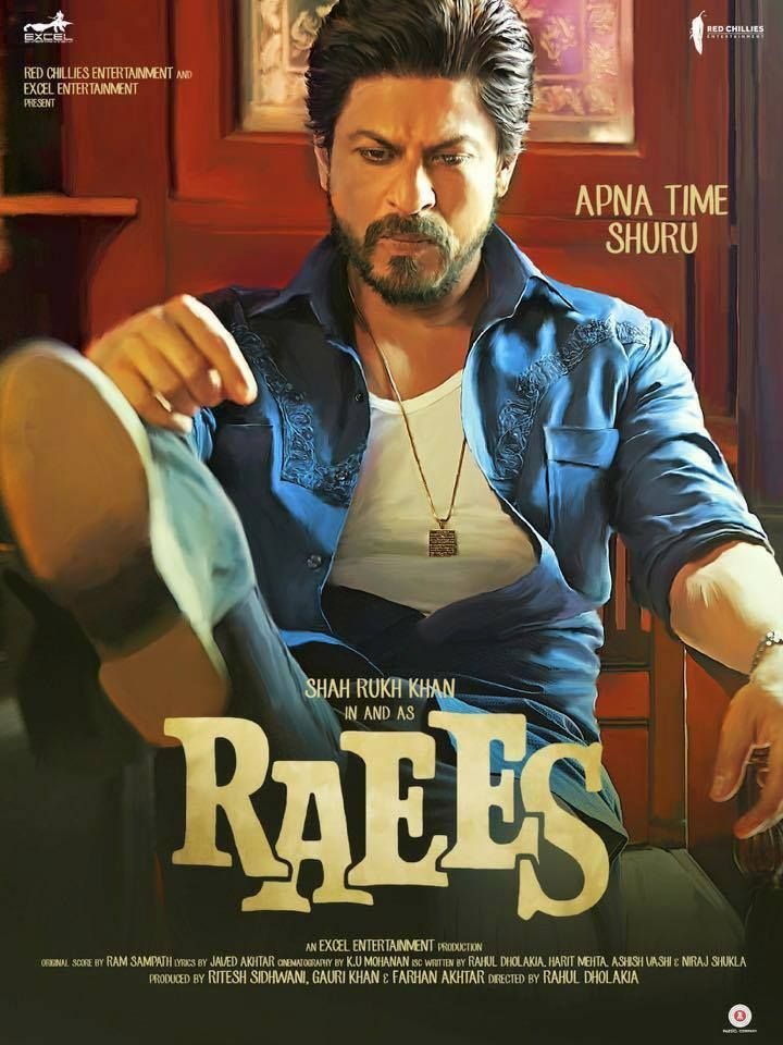 Raees: trailer and poster – Bollywood in Action!