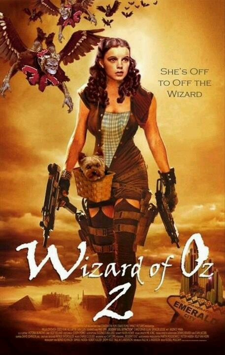 Wizard of oz meets firefly meets laura croft