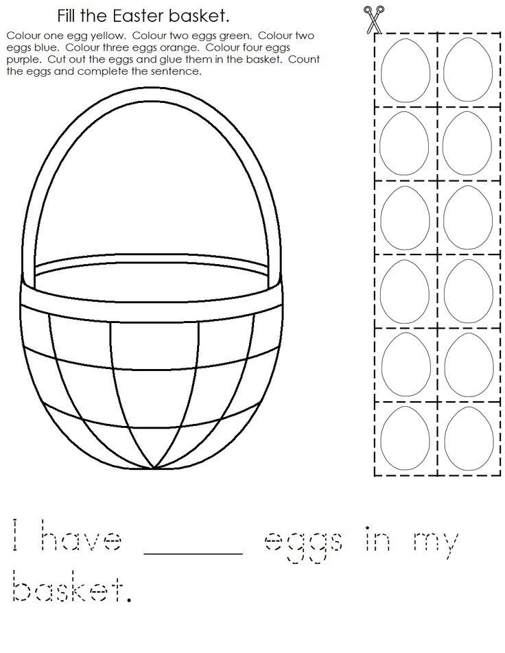 Best 25 Easter Worksheets Ideas On Pinterest