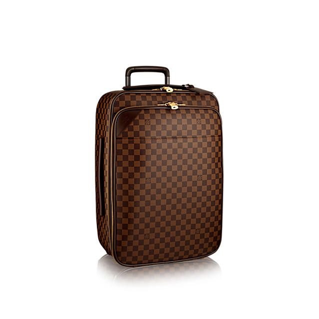 Louis Vuitton Pégase Légère 55 Business: In Damier Ebène canvas, the Pégase Légère Business companion. Elegant and luxurious lightweight cabin-sized suitcase.  Got this in Paris at LV For surprise anniversary gift. 😃