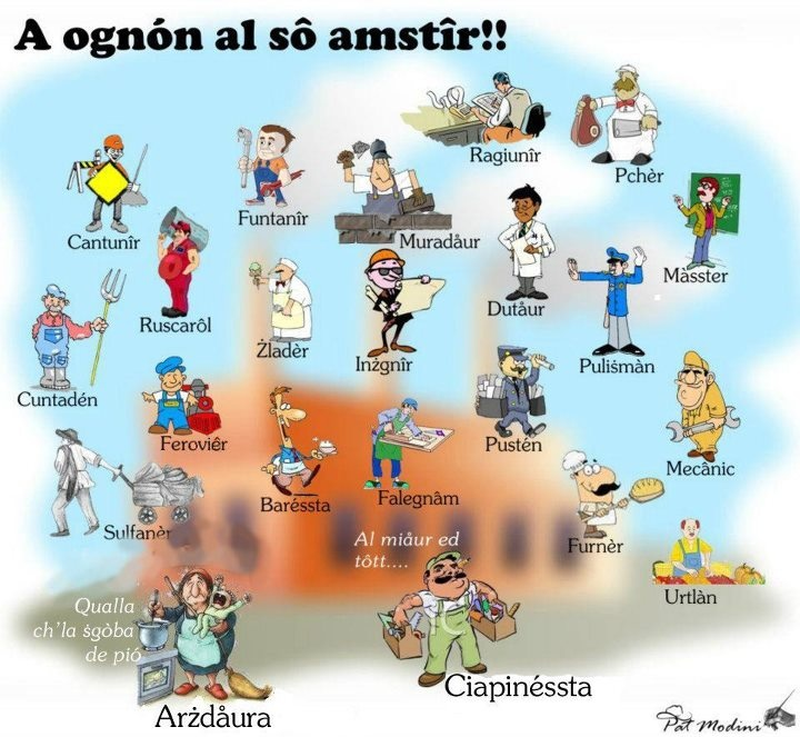 Jobs in Bolognese Dialect  www.succedesoloabologna.it