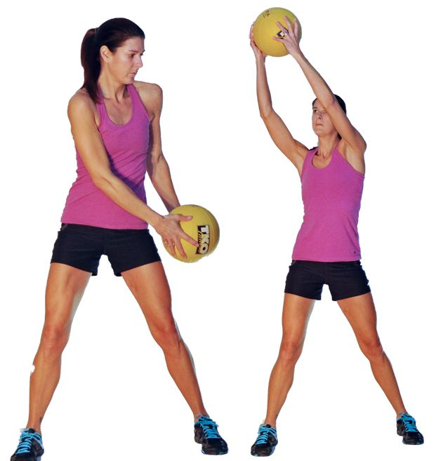 1000+ images about Medicine ball exercises on Pinterest