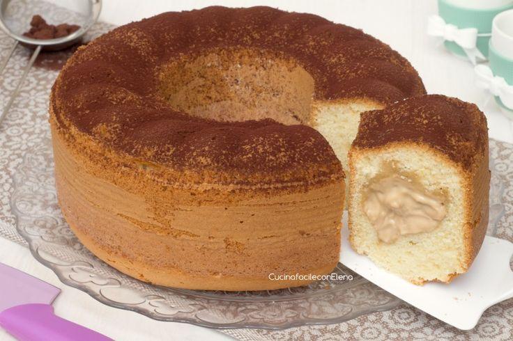 LaCiambella con Crema di Caffè è un dolce favoloso, profumato, soffice come una nuvola e tanto goloso, con un cuore morbido e cremoso, si scioglie in bocca