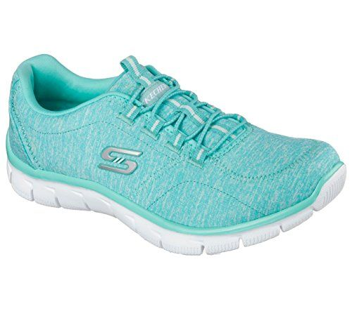 Skechers Relaxed Fit Empire Heart To Heart Womens Sneakers Turquoise 10 - http://all-shoes-online.com/skechers-3/10-b-m-us-skechers-sport-womens-heart-to-heart-9