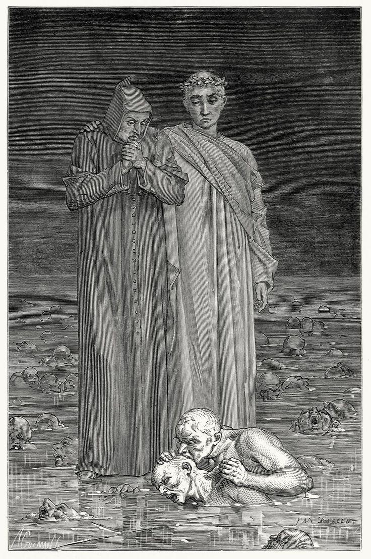 Dante alighieri and his biased inferno
