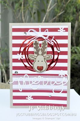 Jo's Stamping Spot - Christmas 2016 using Cookie Cutter Christmas by Stampin' Up!