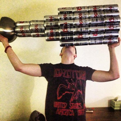 I will never think of the Stanley Cup ever the same way again!