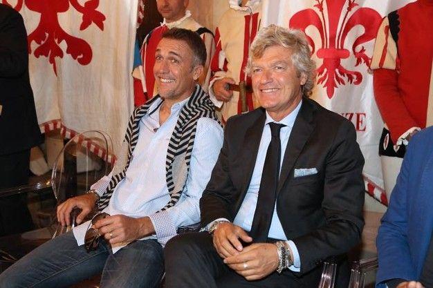 Giancarlo Antognoni e Gabriel Batistuta