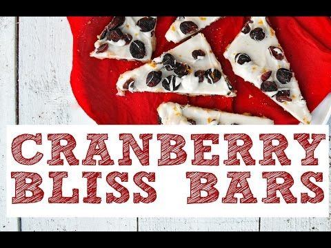 Cranberry Bliss Bar from the vegan cookbook Aquafaba by Zsu Dever