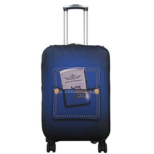 Luckiplus Spandex Travel Luggage Cover Fits 18-32 Inch Luggage New High Quality #LuggageCover