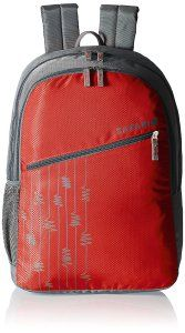 Amazon- Buy Safari 25 ltrs Casual Backpack (Zigzag-Red-CB) at Rs 550 only