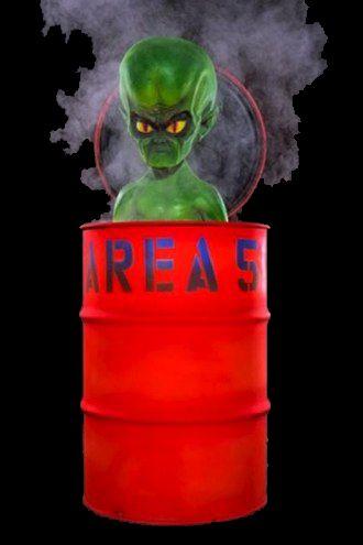 66 best halloween alien invasion area 51 images on for Alien decoration