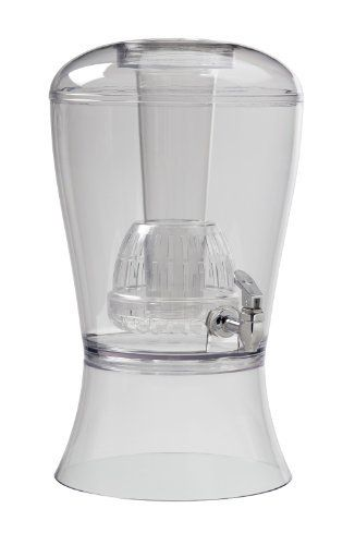 Creative ware Has Developed Yet Another First Class Beverage Dispenser. The New Dispenser Is Made Of Bpa Free Acrylic Material And Offers A Ice Column And Infuser To Flavor Anyone's Favorite Beverage. Holds Up To Three Gallons. The Ice Column Can Be Filled With Ice To Keep Beverages Cool... - http://kitchen-dining.bestselleroutlet.net/product-review-for-creativeware-bev08-beverage-dispenser-with-ice-and-infuser-3-gallon-beverage-dispenser/