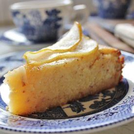 Honey Pear Cake  [BAKING WITH GAB] eat365.com.au