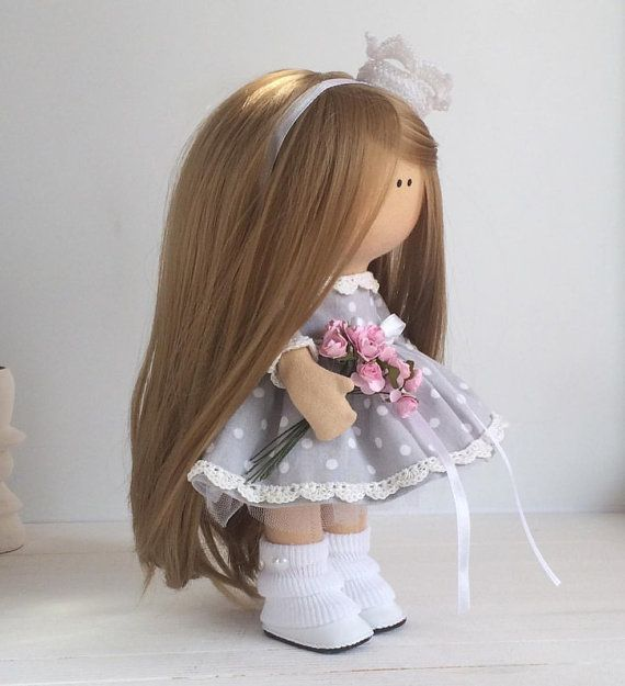 Princess doll handmade Tilda doll Interior by AnnKirillartPlace