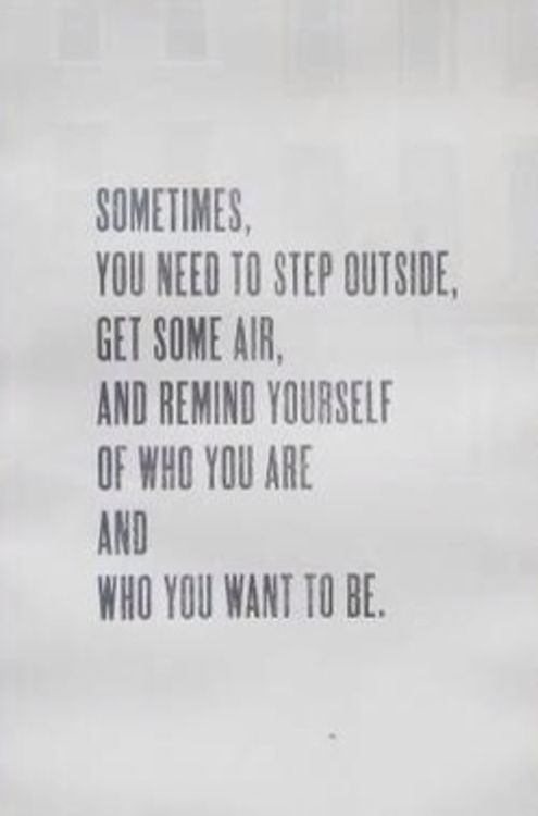 who you want to be//