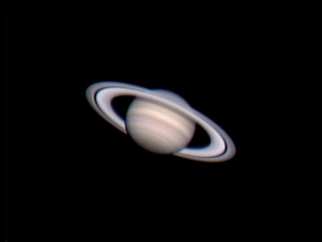 #astrophotography #planet #Saturn imaged with Celestron C9.25 #telescope and Vesta PRO webcam. #astrofotografia #pianeta #Saturno ripreso con #telescopio Celestron C9.25 e webcam Vesta PRO.