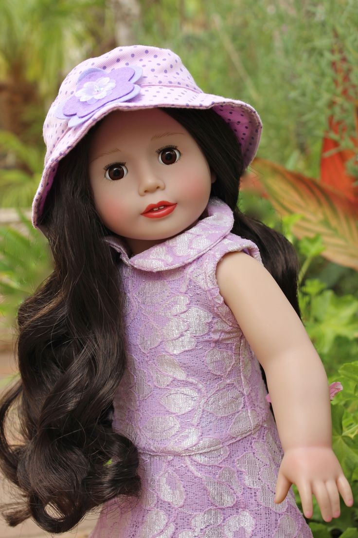 "18"" Doll Melody Rose from www.harmonyclubdolls.com Outfit also available for American Girl."