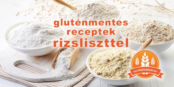 A rizsliszt sokoldalúan használható fel a gluténmentes diétában. Gluténmentes kenyérsütéshez, tésztagyúráshoz, levesek besűrítéséhez is. Gluténmentes receptek