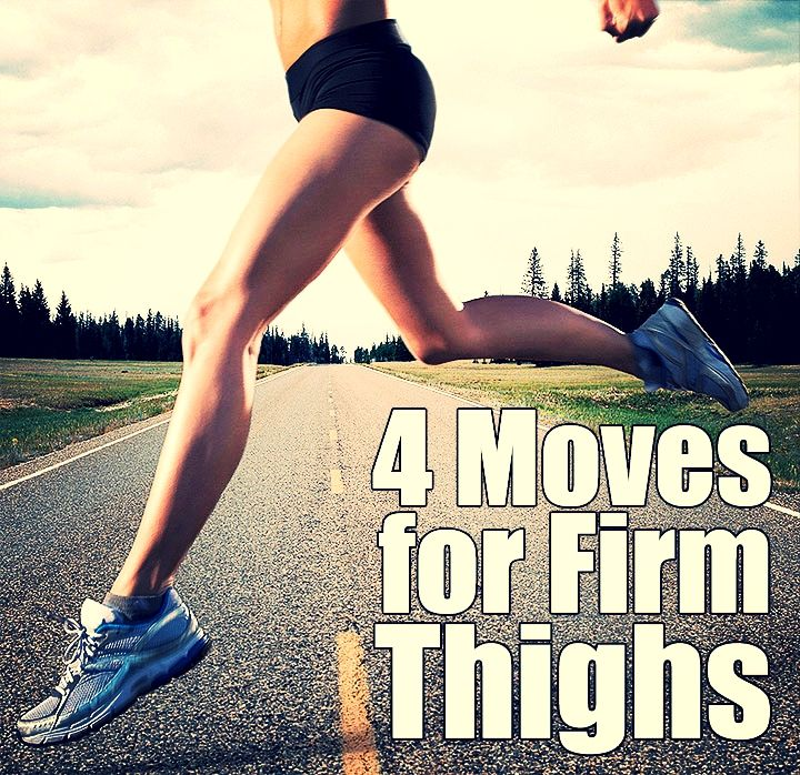 4 Simple moves for Beyoncé-like thighs