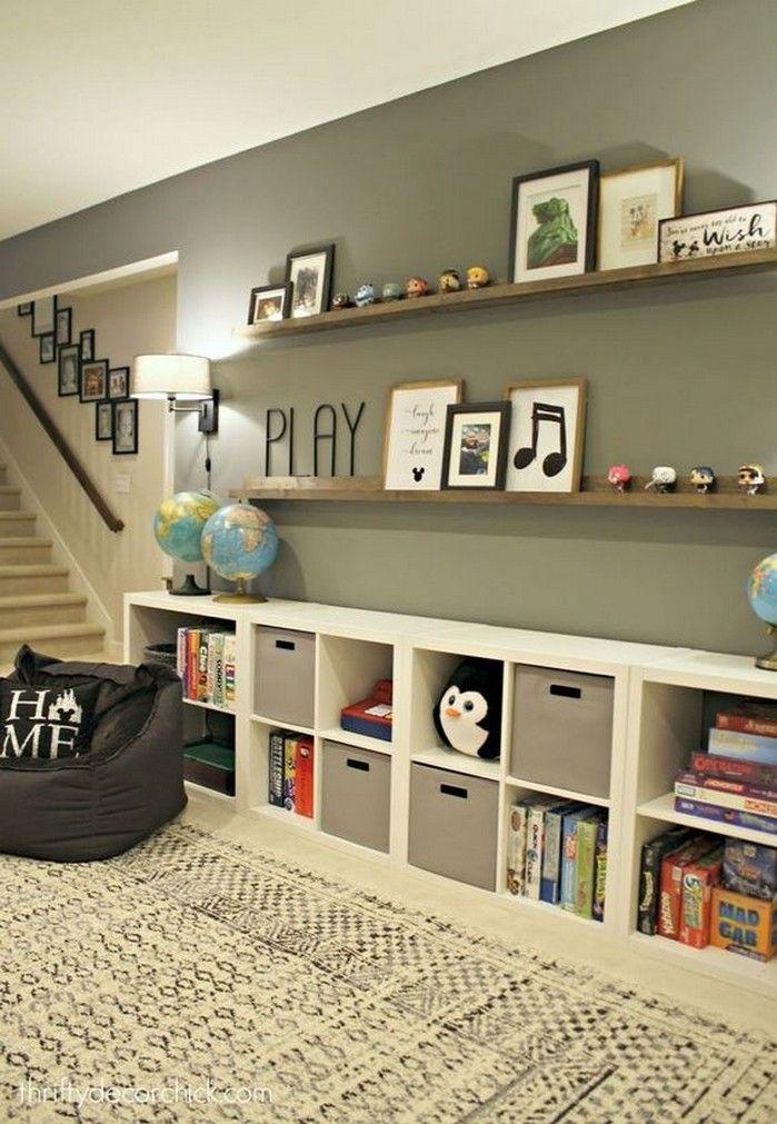 17 The Idea Of Wall Storage Genius On A Cheap Budget 10 Home Home Decor Basement Decor